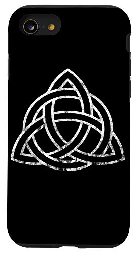 iPhone SE (2020) / 7 / 8 Triquetra Irish Celtic Trinity Knot Symbol Wiccan Spirtual Case