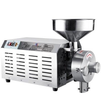 CGOLDENWALL Food Grinding Machine Mills Huishoudelijke commerciële Zout Molen RVS Molen hoog Vermogen Elektrische Specerijen Sojabonen Graan Crusher 20-40 (kg/h)