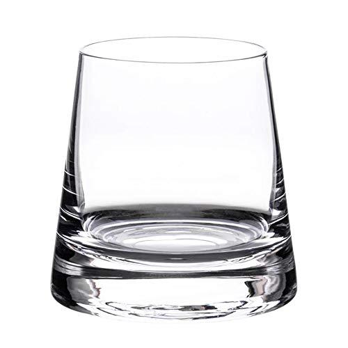 AMAZOM Vaso De Whisky Doble Antiguo - Vasos De Bar De Rocas De Base Pesada De 195 Ml para Bebidas Escocesas, Borbónicas Y De Cóctel