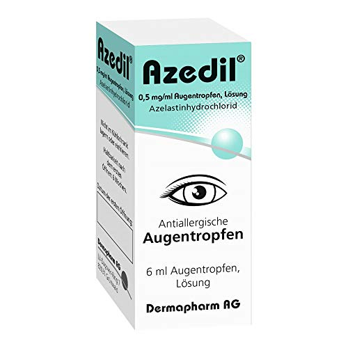 AZEDIL 0,5 mg/ml Augentropfen Lösung 6 ml