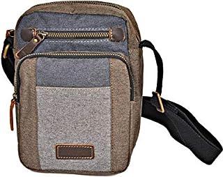 حقيبة بحمالة واحدة تمر عبر الجسم للرجال من ماجلان - لون رمادي - L1431
