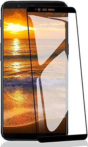 ATUIO - Verre Trempé pour OnePlus 5T [2 pièces], Film Protecteur en Verre Trempé [HD et Transparent] [Anti-Empreintes][Anti-Huile], Films et Protections d'Écran pour OnePlus 5T