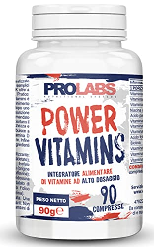 Prolabs Nutrional Systems - Power Vitamins 90 compresse - integratore vitamine e minerali