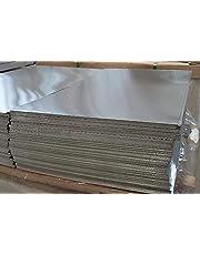 Chapa de aluminio de 1 mm de AlMg, chapa fina de aluminio a elegir, medida posible de 100 a 2000 mm