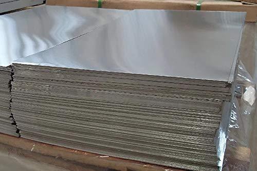 Aluminium plaat 2,5 mm platen Al plaat aluminium plaat fijne plaat op maat te snijden selecteerbaar 100 mm tot 1000 mm 100x300mm 2,5 mm.