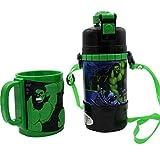 ML Pack Botella de Agua y Taza 3D cantimplora térmica a Prueba de Fugas sin BPA para Levar a la Escuela y Deportes