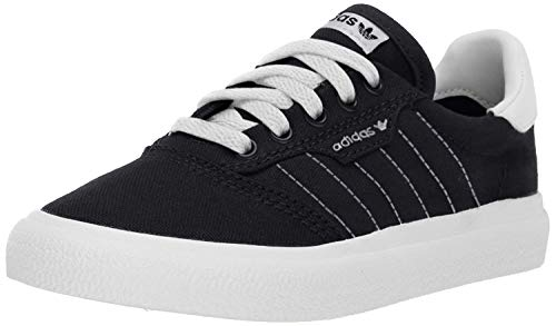 adidas Originals Unisex-Kid's 3MC Sneaker, Black/White/White, 3.5 M US Big Kid