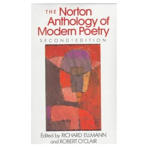Amazon Norton Anthology Of Modern Poetry 9780393956368