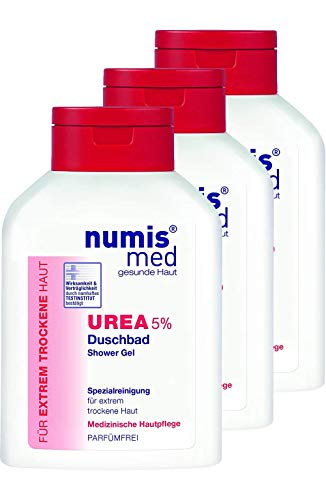 numis med Douchebad UREA 5% 200ml- veganistisch & parabenvrij 3-pack (3x200ml)