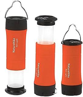 Naturehike 130lumensキャンプランプテントライトテントランプ懐中電灯トーチライト緊急照明 (オレンジ)
