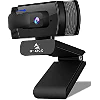 NexiGo N930AF AutoFocus 1080p Streaming Webcam with Stereo Microphone