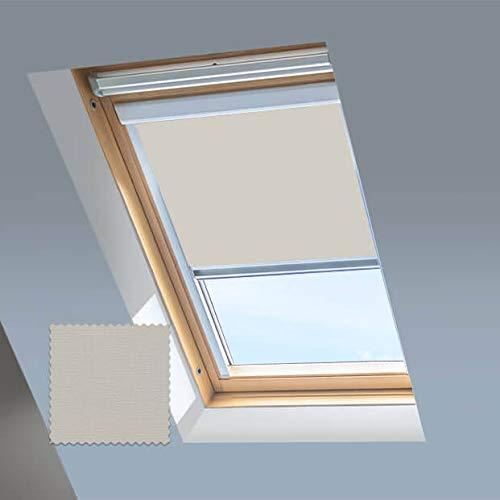 Blackout Skylight - Persianas enrollables para techos y ventanas de techo Dakstra,...