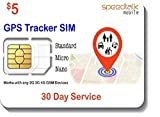 GSM SIM Card for GPS Trackers - Pet Kid Senior Vehicle...