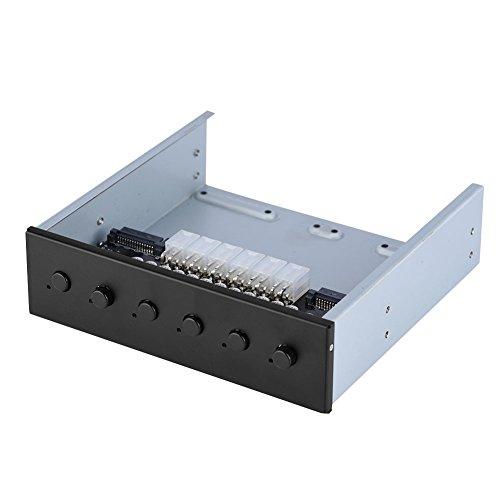 Richer-R HDD Power Control Switch, 2.5 Zoll Festplattenlaufwerk SATA Drive Switcher 6 selbstsichernde Schalter Steuerung IDE 2xSATA 15Pin Umschalter für Desktop PC Computer