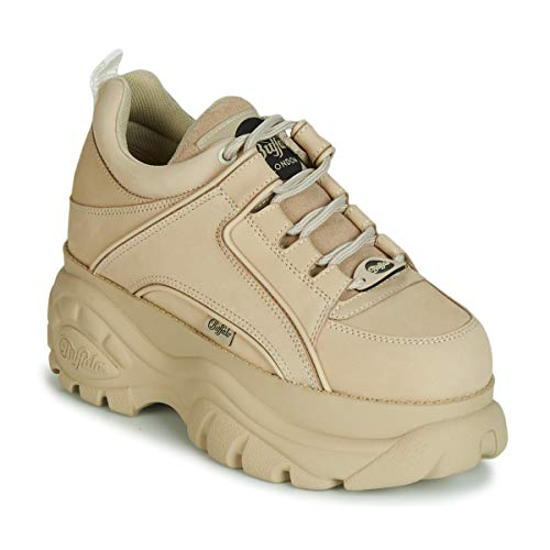 Buffalo 1339-14 2.0 Damen Sneaker, Beige, 35 EU