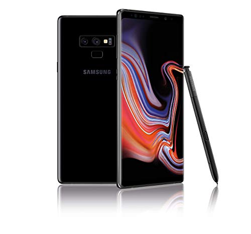 Samsung Galaxy Note9 128GB SIM-Free Smartphone in Midnight Black (Renewed)