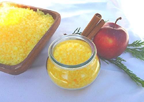 Badesalz Bratapfel im Schmuck WECK-Glas, ohne Palmöl, von kleine Auszeit Manufaktur