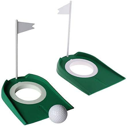 WSERE 2 Pack Golf Putting Cup Indoor Practice Training Aids Indoor Outdoor Golf Putting Hole product image