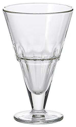 La Rochere - Coupe Excelsior - Haute - Schale auf Fuß/Eisschale/Dessertschale - Pressglas - H: 15,5cm