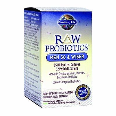 Garden Of Life?Raw Probiotics Men 50 & Wiser 90 Caps by Garden of Life