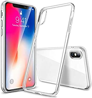 SYNTHILUX Ultra HD Clear Case for iPhone X Models –Slim Protective Phone Cover – Shock Absorbing iPhone Case – Anti-Scratch/Fingerprint Clear Protective iPhone Cover – Clear Case for iPhone (XR)