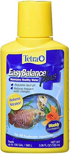Tetra EasyBalance Plus 3.38 Ounces, Weekly Freshwater Aquarium Water Conditioner
