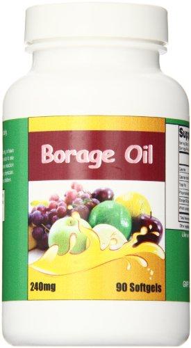 Eden Pond Borage Oil Supplement, 90 Count