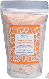 Best Himalayan Salt Mix - Best Bath Salt - Energize & Detox - The Most Amazing Sea Salt Mix Bath Soak! Energizes and Detox the Body and Spirit - Can Also Be Used As a Foot Soak or a Face/body Scrub