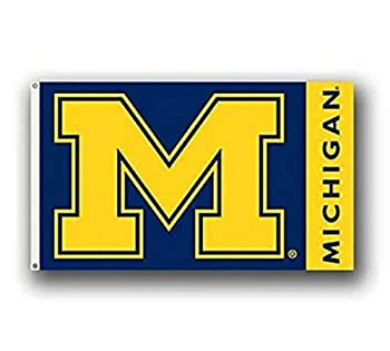 NCAA Michigan Wolverines 3-by-5-foot Flag