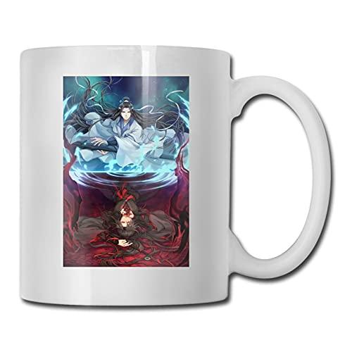 mo dao zu shi Anime 3D Taza de café taza de cerámica taza de té taza de porcelana, perfecto para regalos familiares de 330 ml de capacidad