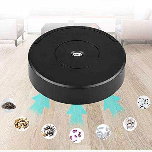 Buy Bargain Robot Vacuum Cleaner, Strong Suction Robotic Vacuum Cleaner, Super-Thin Quiet, Runtime A...