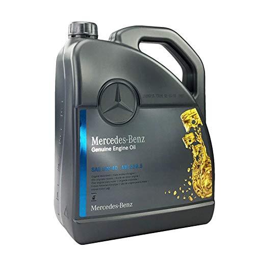 Mercedes-Benz - Olio motore originale 5W-40 MB 229,5, 5 litri