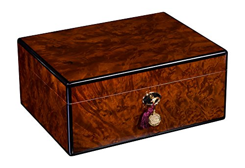 Daniel Marshall 100 Cigar Humidor in Precious Burl Private Stock Humidor