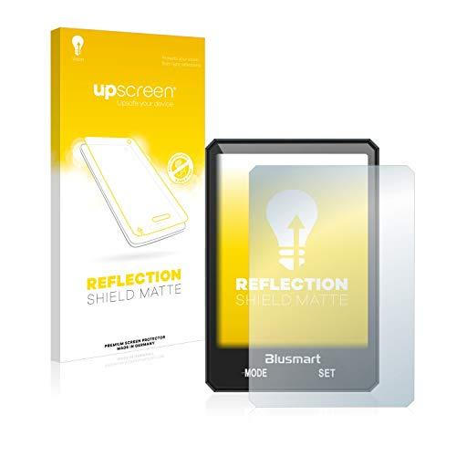 upscreen Entspiegelungs-Schutzfolie kompatibel mit Blusmart Fahrradcomputer 2.8
