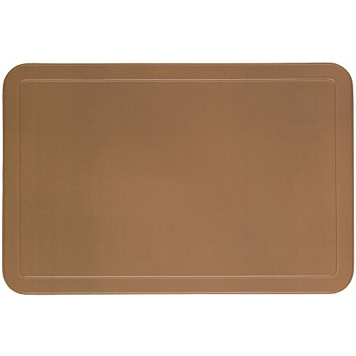 Kela 15018 Uni Set de table PVC Taupe 43,5 x 28,5 x 1 cm