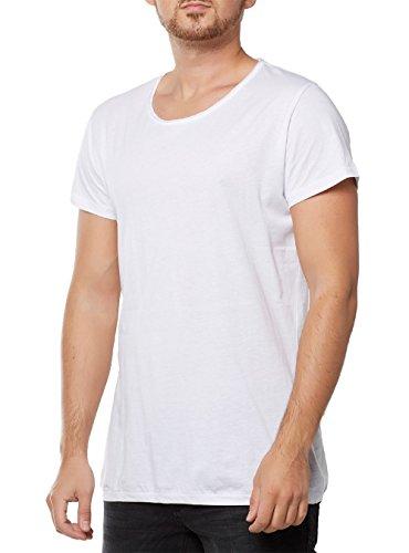 Tigha Herren Wren T-Shirt, Weiß (White 001), (Herstellergröße: XXL)