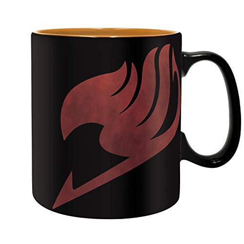 ABYstyle - FAIRY TAIL - Tasse - 460 ml - Lucy, Natsu & Emblem