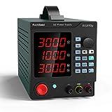 RockSeed プログラマブルDC電源可変 調整可能な30V / 10Aスイッチング安定化電源 ワニ口リード付き ショートカットパラメータストレージ PCソフトウェア ラボ機器用USBインターフェイス RS310P