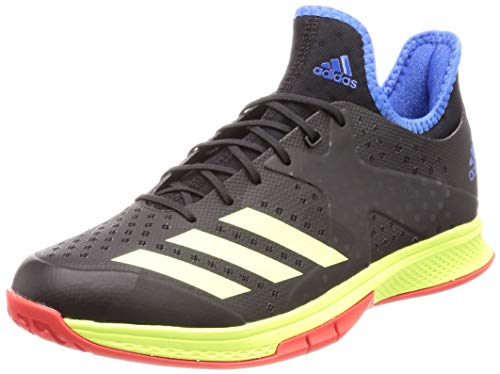 adidas Counterblast Bounce, Zapatillas de Balonmano para Hombre, Negro (Core Black/Hi/Res Yellow/True Blue Core Black/Hi/Res Yellow/True Blue), 40 2/3 EU