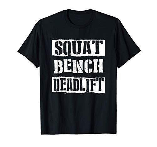 Training Bodybuilding Muskel Squat Bench Deadlift T-Shirt