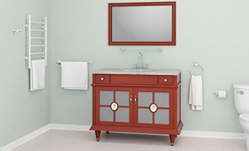 Ancona Pure Elegance Chrome 5-piece Bathroom Accessory Set