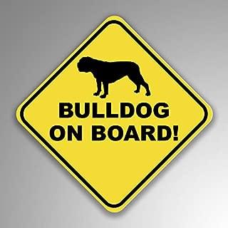 bulldog on board sticker