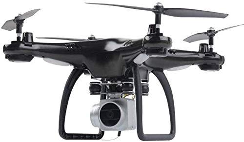 ZGYQGOO Drones, 360 ° Flips Caméra GPS HD Drones Vidéo en Direct GPS 6 Axes gyroscopiques gyroscopiques RC AltituHold 1500Mah Batterie intégrée 18 Min Temps vol Longue portée, Noir