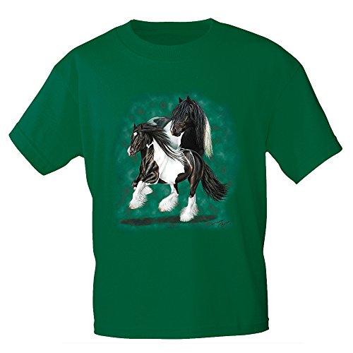 Fan-O-Menal textiel T-shirt met hoogwaardige print - Tinker - 09803 groen - © Collectie Bötzel - Gr. S-XXL.