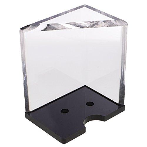 IPOTCH Transparenter Kartenhalter Pokerkarten Halter, Karten Schutz - 6 Deck