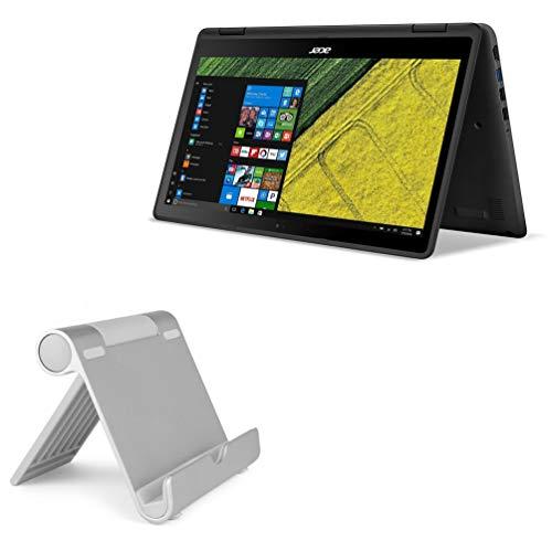Suporte e suporte para Acer Spin 5, BoxWave [Suporte de alumínio VersaView] Portátil, suporte de visualização em vários ângulos para Acer Spin 5