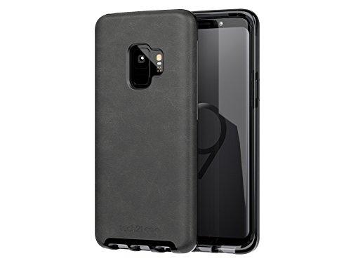 Tech21 Evo Luxe Faux Leather Case voor Samsung Galaxy S9 - zwart leer