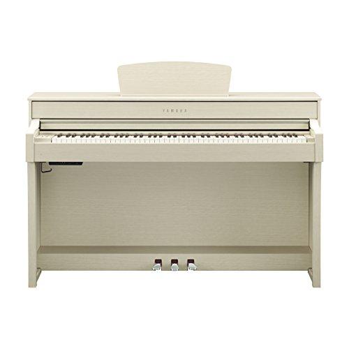 PIANO CLAVINOVA CLP635, INCLUYE ADAPTADOR PA300C BLANCO ARENA (WA) YAMAHA CLP635WASET