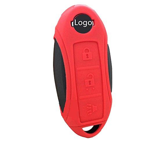 Tuqiang® Coque de clé en silicone pour Nissan Leaf NV200 Combi Micra