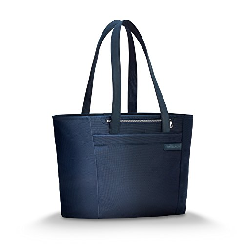 Briggs & Riley Baseline-Large Shopping Tote Bag, Navy, One Size